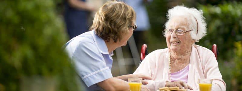 Different types of care homes
