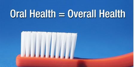 Importance of oral health for overall health